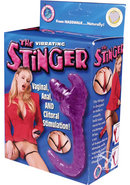 The Stinger Vibrating Vaginal, Anal And Clitoral...