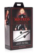 Mistress By Isabella Sinclaire Barrel Nipple Clamps W/...