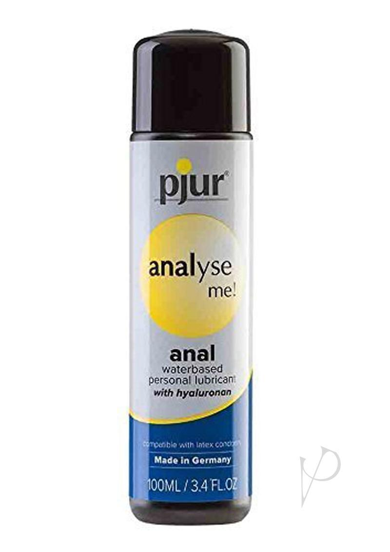 Analyse Me Water Based Anal Lubricant 3.4 Ounce